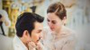 หวานซึ้ง โรแมนติค ชวนฝัน งานแต่งงาน นัท มีเรีย – อั้ม อธิชาติ