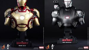 Hot toys ส่งคู่โหดตีตลาด Iron man XLII  และ War Machine ในชุด Bust Collectible