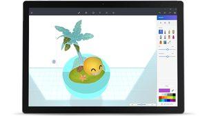 Microsoft เปิดตัว Paint 3D สร้างภาพกราฟิก 3 มิติได้ง่ายๆ ผ่านตัวแอพ