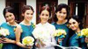 รวม เพื่อนเจ้าสาว จาก งานแต่งงานดารา แก๊งค์ไหนจะสวยเริ่ดแย่งซีน