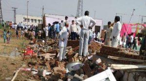 พายุพัดถล่มในอินเดีย ตาย 22 ราย