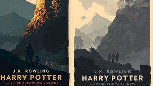 ปกใหม่ทั้ง 7 ของหนังสือเสียง Harry Potter โดย Olly Moss