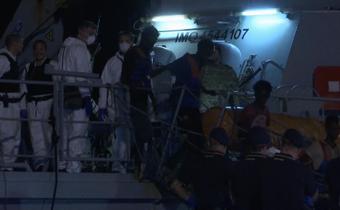 ผู้อพยพเกือบ 200 คน ขึ้นฝั่งที่อิตาลี