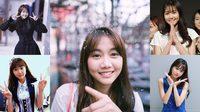 สาวน่ารัก ยิ้มสดใสกินใจ ยกให้เมษา BNK48