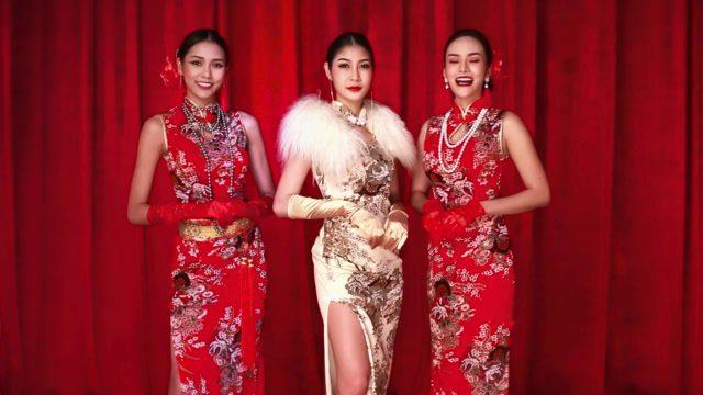 แอปเปิ้ล, เพชรพลอย, ใบเฟิร์น สาวๆ Bunny Playboy อวยพร ต้อนรับวันตรุษจีนตรุษจีนตรุษจีน