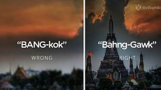 24 สถานที่ทั่วโลก ที่เรามักจะอ่านชื่อผิดกันตลอด