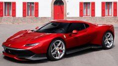 Ferrari SP38 ซุปเปอร์คาร์ รุ่นสั่งทำพิเศษ คันเดียวในโลก