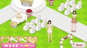 เกมส์จัดงานแต่งเจ้าสาว Wedding Organization