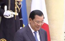 """""""ฮุน เซน"""" ท้าสหรัฐฯ ตัดความช่วยเหลือกัมพูชาทั้งหมด"""