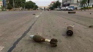 แตกตื่น! กระสุน-อาวุธสงคราม ตกหล่นบนถนนขอนแก่น