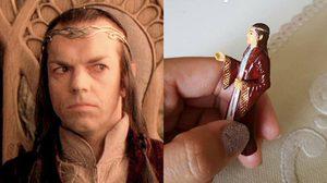 ย่าทวดชาวบราซิลสวดภาวนากับฟิกเกอร์ตัวละครจาก Lord of the Rings ทุกวัน