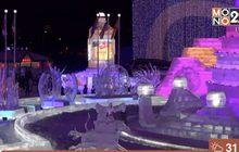 แข่งขันแกะสลักน้ำแข็งที่เมืองฮาร์บิน