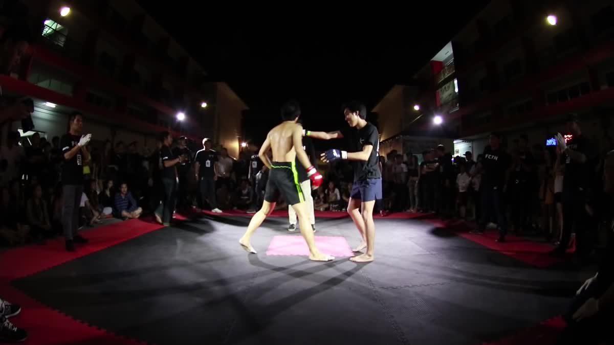 FIGHT CLUB THAILAND มังกรทอง ภูมิ เพชรเกษม x มาร์ค คลองเปรม คู่ที่ 176