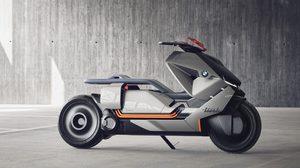 BMW อวดโฉมรถ scooter ตัวต้นแบบ ภายใต้แนวคิด Concept Link ที่งาน Auto show ประเทศอิตาลี