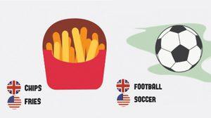 ความแตกต่างของภาษาอังกฤษ รู้ป่ะว่าอเมริกาและอังกฤษ ใช้อังกฤษไม่เหมือนกัน