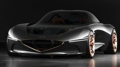 Genesis Essentia Concept รถยนต์ไฟฟ้าต้นแบบคันแรกจากแดนกิมจิ