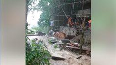 คนแห่แชร์เตือนภัย หลังน้ำป่าไหลทะลักลงจากดอยสุเทพ