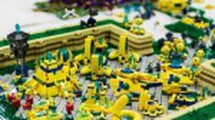พยายามมาก ! แฟนคลับใช้ Lego สร้างโลกในเกมส์ Starcraft