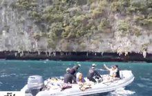 เร่งกู้ซากเรือไฟไหม้หมู่เกาะพีพี จ.กระบี่