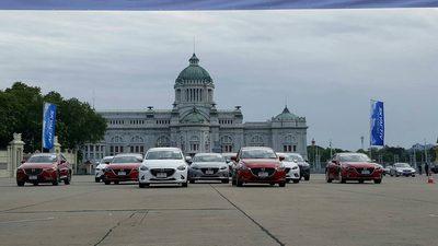 มาสด้า จัดคาราวานทดสอบรถยนต์ ไทย ลาว เวียดนาม กัมพูชา กว่า 4000 กม.
