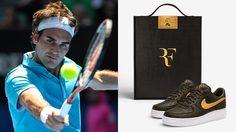 Nike Air Force 1 ปล่อยรุ่นพิเศษที่ทำให้กับ Roger Federer นักเทนนิสมือ 1 ของโลก