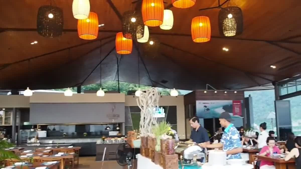 ดินเนอร์ โซนเปิดใหม่ Kalima resort @Phuket