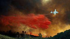ห้ามใช้โดรนในพื้นที่ไฟป่ารัฐแคลิฟอร์เนีย