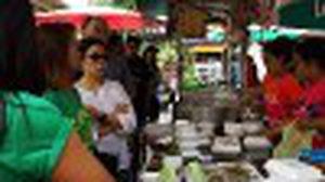กุยช่ายร้านเจ๊มล ตลาดน้ำ วัดศาลเจ้า ของอร่อย ย่านปทุมธานี