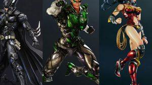 เปลี่ยนโฉมใหม่ ของเหล่าฮีโร่ DC จาก Play Arts Kai