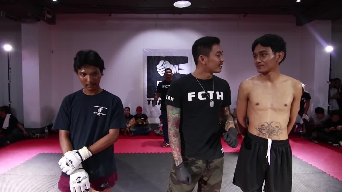 Fight Club Thailand 2017 ปาแปง x เคน HK35 คู่ที่ 209