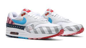Parra x Nike Air Max 1 ตัวรองเท้าเต็มไปด้วยสีสัน เหมาะแก่การเสียเงินเป็นอย่างยิ่ง