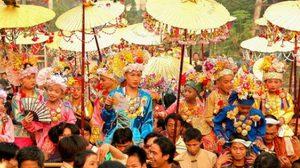 แม่ฮ่องสอนเชิญเที่ยว ประเพณีปอยส่างลอง ประจำปี 2554