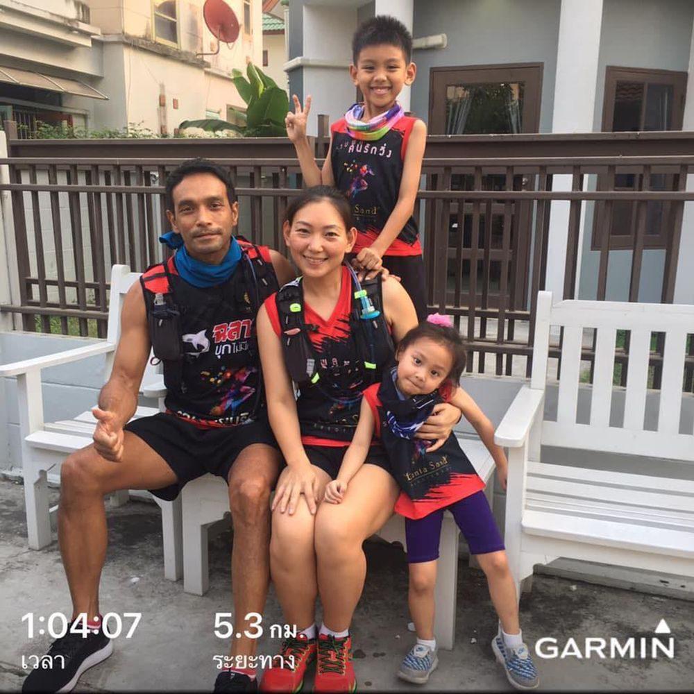 ครอบครัวนักวิ่ง