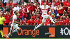 ประตูชัยแต่ไก่โห่! ชาร์ โขกพา สวิตเซอร์แลนด์ เฉือน อัลบาเนีย 10 ตัว 1-0