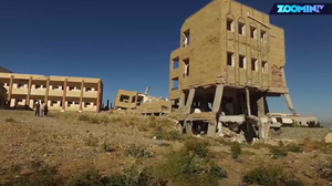 The School Surrounded By Bombs