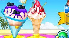 เกมส์ทำไอศครีมหวานเย็น Ice Cream Maker
