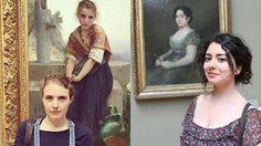 เหมือนเป๊ะ! 12 ภาพวาดในพิพิธภัณฑ์ ที่บังเอิญเหมือนกับคนในยุคปัจจุบัน