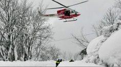 สลด! หิมะถล่มทับโรงแรมในแคว้นอาบรุซโซของอิตาลี มีคนเสียชีวิต