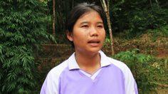 """""""อรัญวา"""" สาวชาวมละบริคนแรกของโลกที่จบระดับปริญญาตรี"""