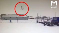 คลิปสยอง ! เครื่องบินรัสเซียเชิดหัวไม่ขึ้น ดิ่งกระแทกพื้น เซ่น3ศพ