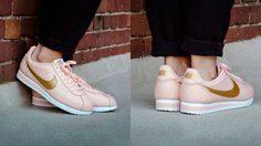 คิ้วท์เว่อร์ รองเท้าผ้าใบ NIKE เปิดตัวสีใหม่ PINK & GOLDคือดีย์!!