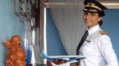 นักบินสวยอินเดีย สร้างประวัติศาสตร์ เป็นกัปตันหญิงอายุน้อยสุด ขับโบอิ้ง777