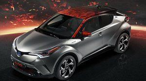 Toyota C-HR Hy-Power Concept รถต้นแบบ รุ่นใหม่ ที่เปี่ยมไปด้วยอารมณ์และทรงพลัง