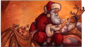 ตำนานกวางเรนเดียร์ของซานตาคลอส