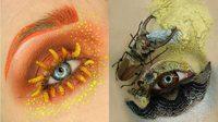 วั่ยตายแล้ววว เมคอัพอาร์ติสต์ โชว์แต่งตาใช้แมลงจริง สวยจนอยากร้องไห้!