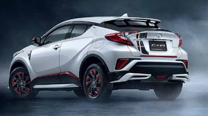 Toyota C-HR  2018 ใหม่ จัดเต็มด้วยชุดแต่งพิเศษรอบคันจากโรงงาน