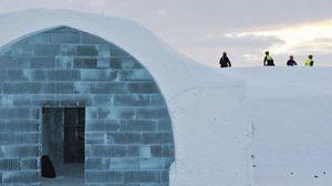 โรงแรมน้ำแข็ง ท้าทายความเย็นกันที่ สวีเดน