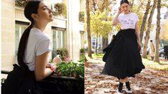 เอาอยู่มั้ย! กับเสื้อผ้าสไตล์ขาว-ดําใน Paris กับสาวใหม่ ดาวิกา