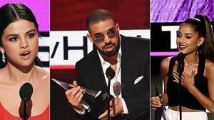 สรุปผล 2016 AMAs – Justin Bieber, Drake หอบรางวัลกลับบ้าน!