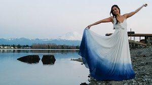 ชุดเจ้าสาว สีขาวล้วน มันธรรมดาไป! เทรนด์ใหม่ ชุดแต่งงานแบบ Dip Dye สร้างสีสันในวันของคุณ
